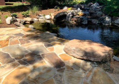 Southern Greenscapes Landscape Design & Construction | Fort Mill, Tega Cay, Rock Hill, Lake Wylie, Clover. Indian Land, Waxhaw, Weddington | balmoral drive