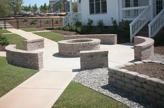Southern Greenscapes Landscape Design & Construction | Rock Hill, SC | fire pit