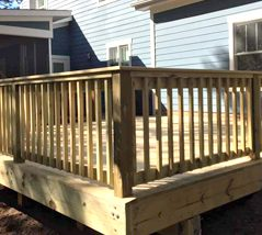 Southern Greenscapes Landscape Design & Construction | Rock Hill, SC | deck
