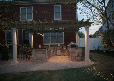 Southern Greenscapes Landscape Design & Construction   Rock Hill, SC   outdoor lighting