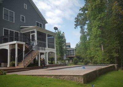 Southern Greenscapes Landscape Design & Construction   Rock Hill, SC   pool area