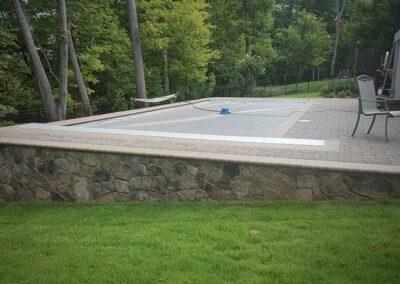 Southern Greenscapes Landscape Design & Construction   Rock Hill, SC   prep work for pool