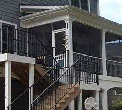 Southern Greenscapes Landscape Design & Construction | Rock Hill, SC | porch