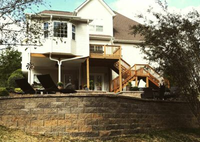 Southern Greenscapes Landscape Design & Construction | Rock Hill, SC | retaining wall