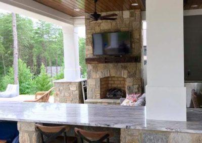 Southern Greenscapes Landscape Design & Construction | Rock Hill, SC | outdoor kitchen