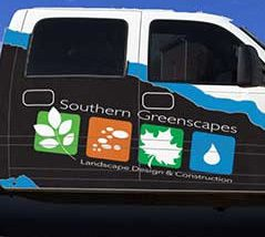 Southern Greenscapes Landscape Design & Construction | Rock Hill, SC | truck